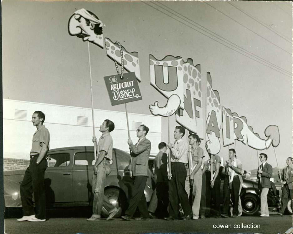 Disney Strike, c1941 (photo: Kosti Ruohomaa)